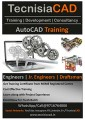 2D Drafting & 3D Modeling Training using AUTOCAD