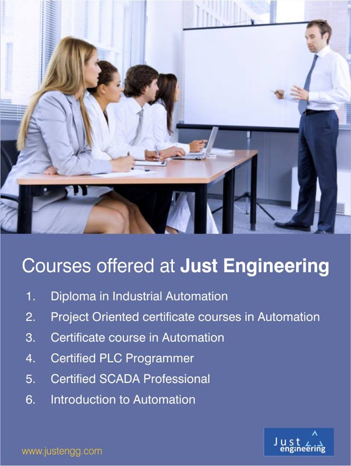 Just engineering offers certificate course in Automation