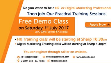 Free Demo Class