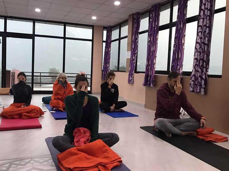100 Hours Yoga Teacher Training Course in Rishikesh India